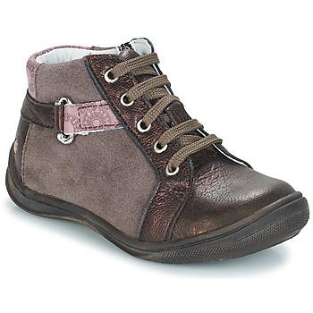 Zapatos Niña Bandolera GBB RICHARDINE Marrón / Bronce