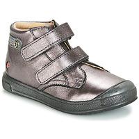 Zapatos Niña Zapatillas altas GBB RACHEL Violeta / Metalizado