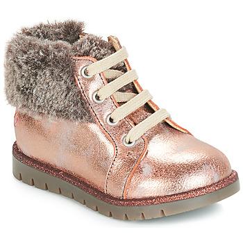 Zapatos Niña Botas de caña baja GBB RENATA Vts / Rosa / Polvo / Dpf / Alice