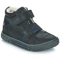 Zapatos Niño Botas de caña baja GBB ROBERT Vts / Negro / Dch / Stryke