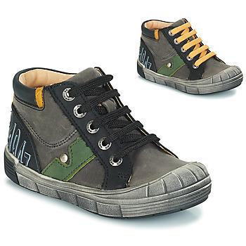 Zapatos Niño Botas urbanas GBB REINOLD Nuv / Gris- negro / Dpf / 2831
