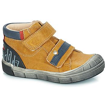 Zapatos Niño Botas de caña baja GBB REMI Camel