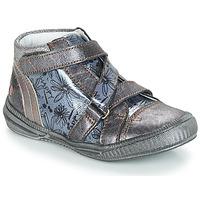 Zapatos Niña Botas de caña baja GBB RADEGONDE Gris / Azul