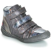 Zapatos Niña Botas de caña baja GBB RAFAELE Azul / Gris