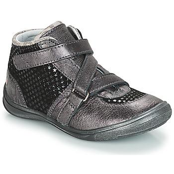Zapatos Niña Botas de caña baja GBB RIQUETTE Gris / Negro