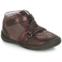 Zapatos Niña Botas de caña baja GBB RIQUETTE Marrón / Bronce