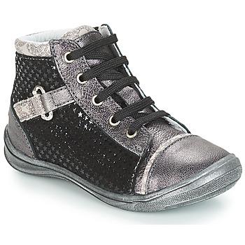 Zapatos Niña Zapatillas altas GBB ROMIE Negro / Gris