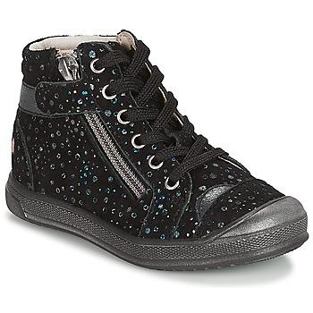 Zapatos Niña Botas de caña baja GBB DESTINY Vte / Negro / Confetti / Dpf / Edit