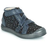 Zapatos Niña Zapatillas altas GBB NADEGE Azul / Negro