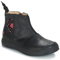 Zapatos Niña Botas urbanas GBB ROMANE Vte / Negro / Dpf / Edit