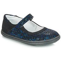 Zapatos Niña Bandolera GBB PLACIDA Azul / Negro