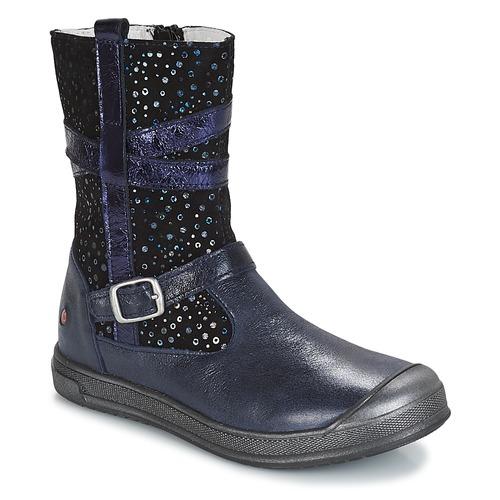 GBB NARCISSE Marino - Envío gratis | ! - Zapatos Botas de caña baja Nino