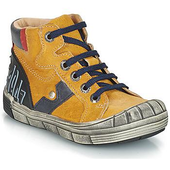 Zapatos Niño Botas de caña baja GBB RENZO Amarillo