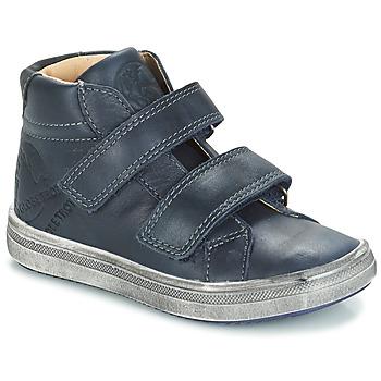 Zapatos Niño Botas de caña baja GBB NAZAIRE Vte / Marino / Dpf / 2835