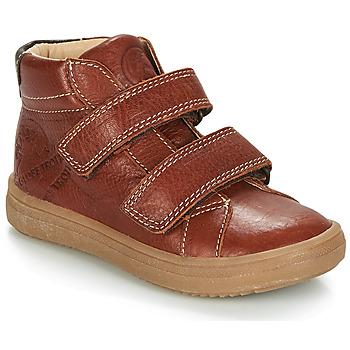 Zapatos Niño Botas de caña baja GBB NAZAIRE Marrón