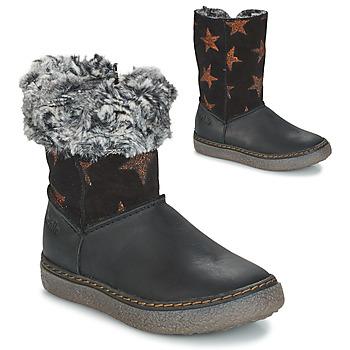 Zapatos Niña Botas urbanas GBB DUBROVNIK Negro / Gris