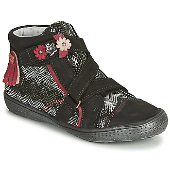 Zapatos Niña Botas de caña baja Catimini ROQUETTE Ctv / Negro plata / Dpf / 2852