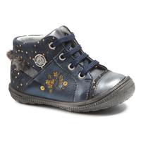 Zapatos Niña Botas de caña baja Catimini RIKI Vtc / Marino - lunares / Dorado / Dpf / 2822