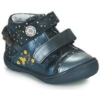 Zapatos Niña Botas de caña baja Catimini ROSSIGNOL Marino / Oro
