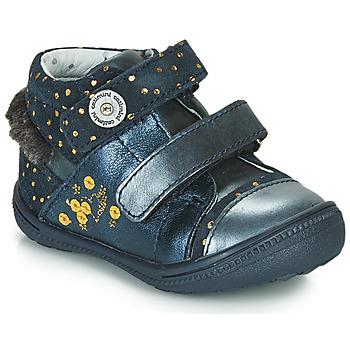 Zapatos Botas de caña baja Catimini ROSSIGNOL Vtc / Marino - lunares / Dorado / Dpf / 2822