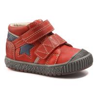 Zapatos Niño Botas de caña baja Catimini RADIS Vte / Rojo - marino  / Dch / Linux