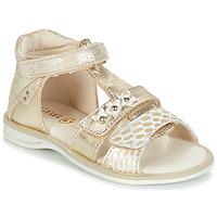 Zapatos Niña Sandalias GBB SYLVIE Dorado