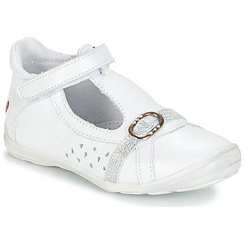 Zapatos Niña Bailarinas-manoletinas GBB SALOME Blanco