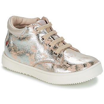 Zapatos Niña Zapatillas bajas GBB SACHA Vte / Beige - plata / Dpf / Dinner