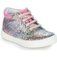 Zapatos Niña Botas de caña baja GBB SACHA Svt / Rosa / Multiple / Dpf / Dinner