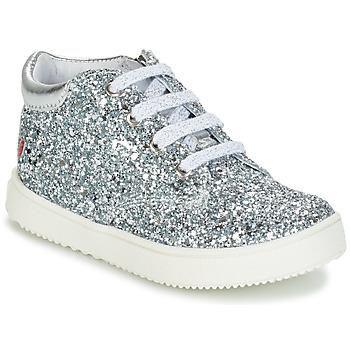 Zapatos Niña Zapatillas altas GBB SACHA Plata