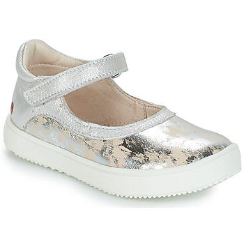 Zapatos Niña Botas de caña baja GBB SAKURA Vte / Beige - plata / Dpf / Dinner