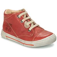 Zapatos Niño Botas de caña baja GBB SYLVAIN Rojo