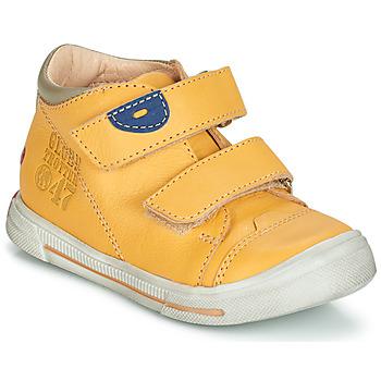 Zapatos Niño Botas de caña baja GBB SAMY Amarillo