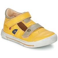 Zapatos Niña Bailarinas-manoletinas GBB STEVE Amarillo