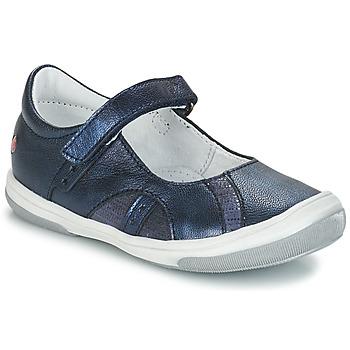 Zapatos Niña Bailarinas-manoletinas GBB SYRINE Azul