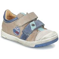 Zapatos Niño Botas de caña baja GBB SERGE Vtc / Topo - azul / Dpf / Flash
