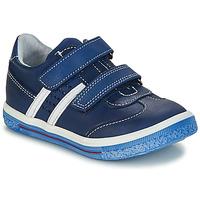 Zapatos Niño Botas de caña baja GBB STALLONE Vte / Marino / Dpf / Times
