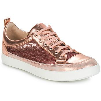 Zapatos Niña Botas urbanas GBB ISIDORA Vts / Rosa - oro / Dpf / 2706