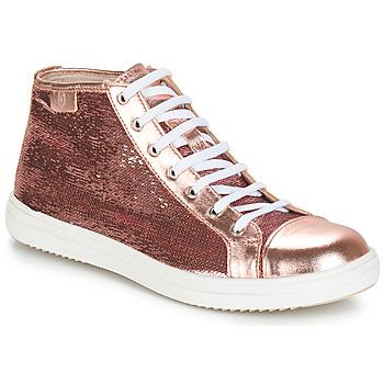 Zapatos Niña Botas de caña baja GBB IMELDA Svt / Rosa - oro / Dpf / 2835