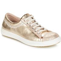 Zapatos Niña Botas de caña baja GBB GINA Vte / Beige-dorado / Dpf / 2835