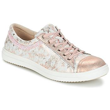 Zapatos Niña Botas de caña baja GBB GINA Vte / Rosa- gris / Dpf / 2835