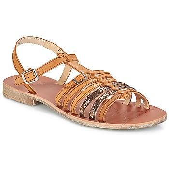 Zapatos Niña Sandalias GBB BANGKOK Marrón