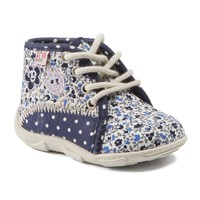 Zapatos Niña Pantuflas GBB PAT Ttx / Marino - fluor / Dtx / Amis