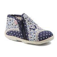 Zapatos Niña Pantuflas GBB PILI Ttx / Marino - fluor / Dtx / Amis