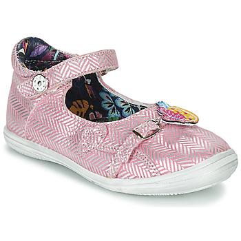 Zapatos Niña Sandalias Catimini SITELLE Rosa / Plata