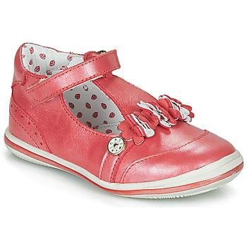 Zapatos Niña Bailarinas-manoletinas Catimini SANTOLINE Vte / Rojo / Nacar / Dpf / 2851
