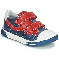 Zapatos Niño Zapatillas bajas Catimini SORBIER Azul / Rojo