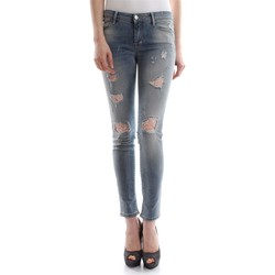 textil Mujer vaqueros slim Met COLLY D1121 E129 6438 VAQUEROS Mujer DENIM LIGHT BLUE DENIM LIGHT BLUE