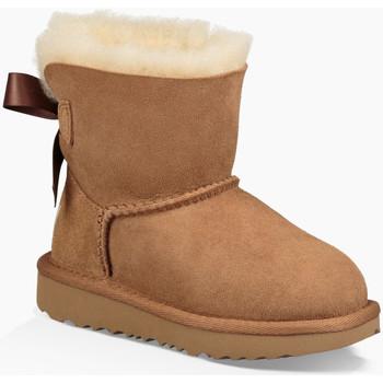 Zapatos Mujer Botas de nieve UGG Mini Bailey Bow II  Chestnut KIDS Marrón