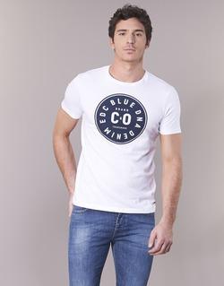 textil Hombre camisetas manga corta Esprit GRAHAM Blanco